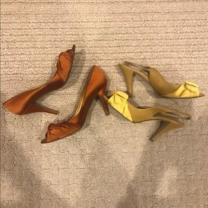 J. Crew High Heel Pumps Shoe Bundle Lot 8.5